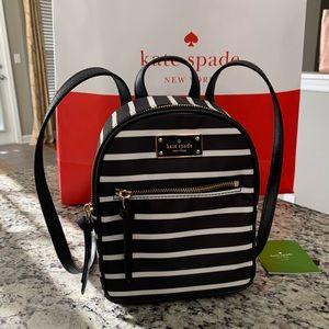 NWT Authentic Kate Spade Nylon Mini Backpack
